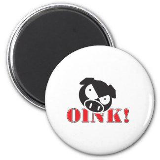 OINK_GraphicReversed マグネット