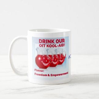 OITのかっこいい援助及び誰も私の子供にもう害を与えることができません コーヒーマグカップ