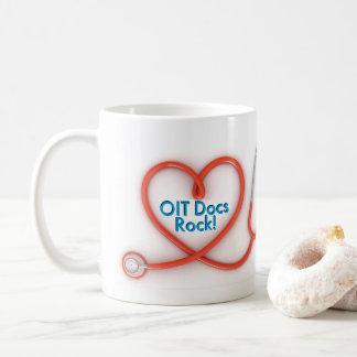 OIT DOCの石: 2つの側面 コーヒーマグカップ