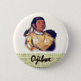Ojibwe 5.7cm 丸型バッジ