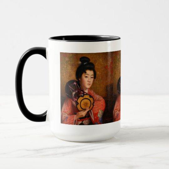 Okada Saburousuke,  Portrait of a Lady マグカップ
