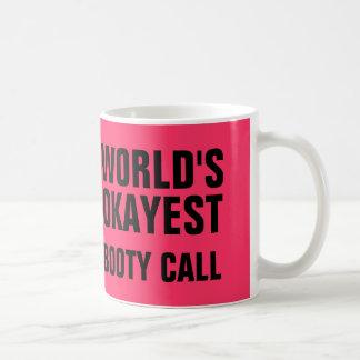 Okayestの利得呼出し コーヒーマグカップ