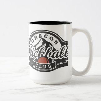 OKCのマグのoのおもしろい ツートーンマグカップ