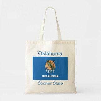 Oklahomanの旗のバッグ トートバッグ