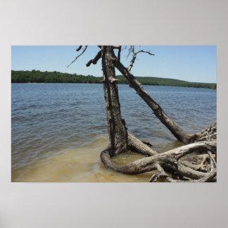 Okmulgee湖 ポスター