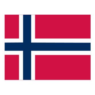 """øksのノルウェーのフラッシュカードまたは一致カードのための""""Ø"""" ポストカード"""
