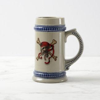 Olの海賊スカル ビールジョッキ