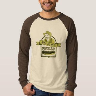 OLジムのピクルスの野球のティー Tシャツ
