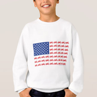 OLD-BIKE-FLAG-2-TEE スウェットシャツ