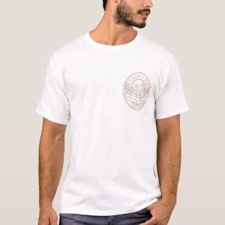 Oldeのスタイルのポケットライト輪郭 Tシャツ