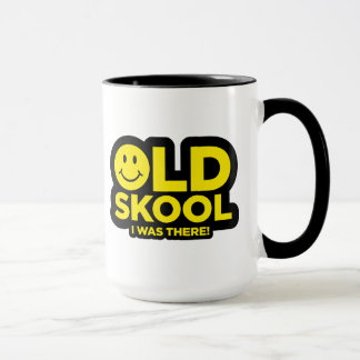 Oldskool -私はそこにいました-激賞の酸のにこやかなマグ マグカップ