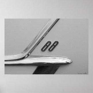 Oldsmobile 88のバッジ ポスター