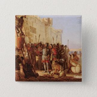 Oleg帝政ロシアの皇子の釘付け 5.1cm 正方形バッジ