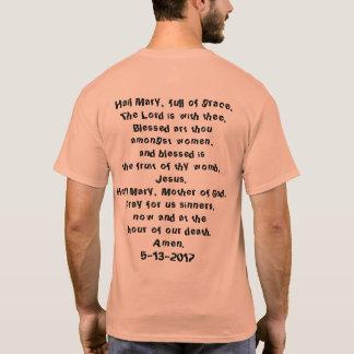 OLFの教区の歩行のTシャツ、100 - 70記念日 Tシャツ