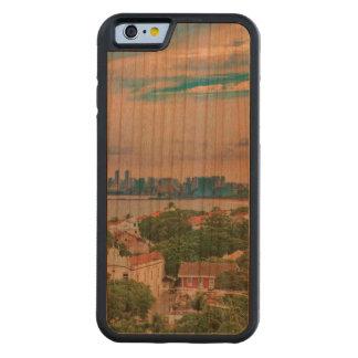 OlindaおよびRecife Pernambucoブラジルの空中写真 CarvedチェリーiPhone 6バンパーケース