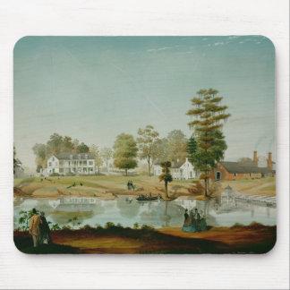 Olivierのプランテーション1861年 マウスパッド