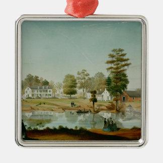Olivierのプランテーション1861年 メタルオーナメント