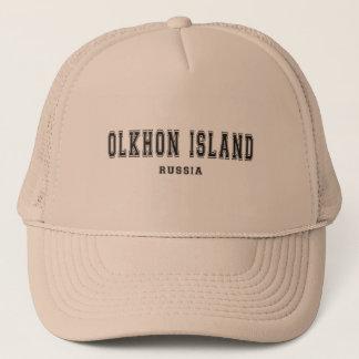 Olkhonの島ロシア キャップ