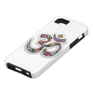 Omのオームのオウムのナマステのヨガの記号 iPhone SE/5/5s ケース
