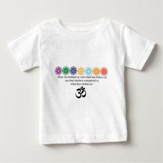 Omのヨガのティー ベビーTシャツ