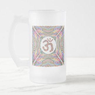 Omの信念の宝石のコレクション フロストグラスビールジョッキ