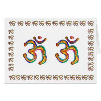 Omの信念の硬貨-精神的な心および精神 カード