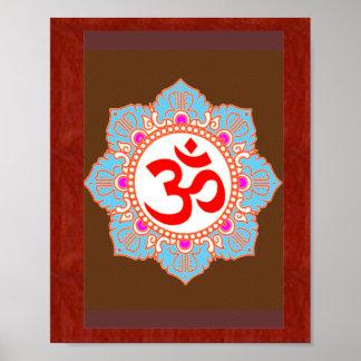 Omの信念の芸術: Navin Joshi著、低価格のギフト ポスター