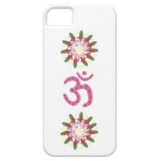 OMの信念-基づく花の花輪 iPhone 5 CASE