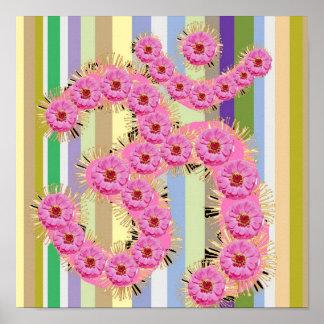 OMの信念-花の花輪との献呈 ポスター