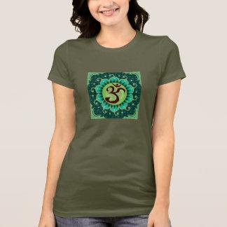 omの曼荼羅 tシャツ