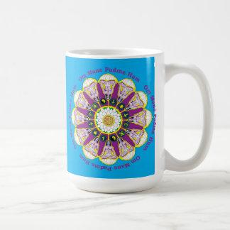 Omの鬣のPadmeのハム雑音の信念のBabajiのマグ コーヒーマグカップ
