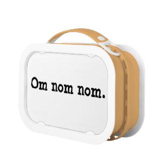 Omのnomのnomのお弁当箱 ランチボックス