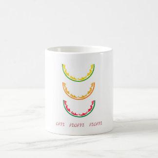 Omのnomのnom コーヒーマグカップ