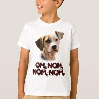 Omのnom、nom、nom、 Tシャツ