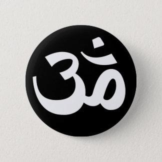 Omボタン 5.7cm 丸型バッジ