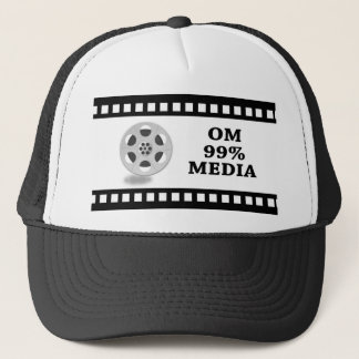 OM99Mediaの帽子 キャップ