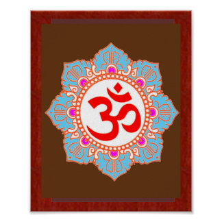 Om Mantra Art:by Navin Joshi, LOWPRICE gifts ポスター