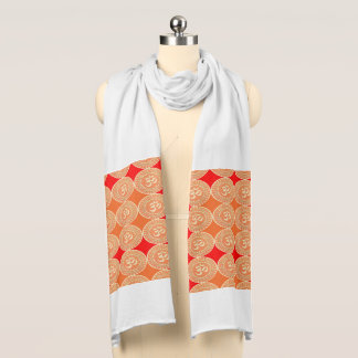 OM mantra Hinduism religion yoga meditation スカーフ