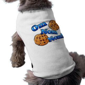 Om Nom Nomのミーム愛クッキー ペット服