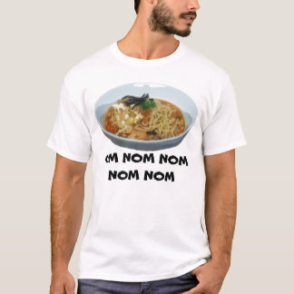 OM NOM NOM NOM NOM RamyunのTシャツ Tシャツ