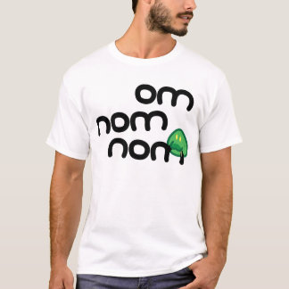 Om Nom Nom Tシャツ