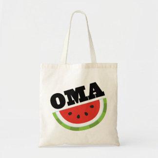 Omaのスイカのギフト トートバッグ