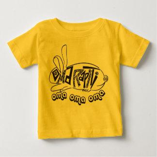 OmaRapiti -操業ウサギ ベビーTシャツ