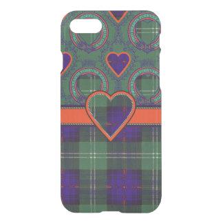 O'Mayの一族の格子縞のスコットランドのキルトのタータンチェック iPhone 8/7 ケース