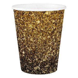 Ombre glitter sparkling 紙コップ
