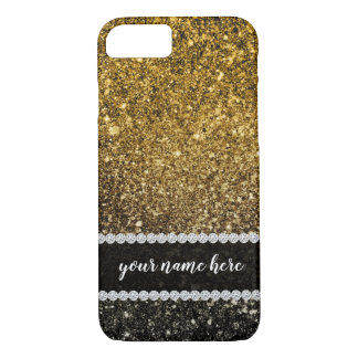 Ombre glitter sparkling iPhone 8/7ケース