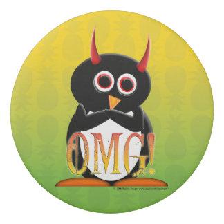 OMGのあなたのオフィスまたは学校のための邪悪なペンギンの消す物 消しゴム