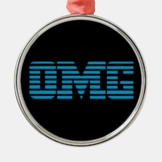 OMGのなんてことだパロディのロゴ メタルオーナメント