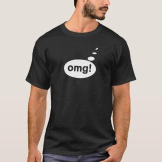 OMGのスピーチおよび文字の泡Tシャツv1 Tシャツ