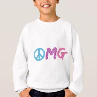 omgのピースサイン スウェットシャツ